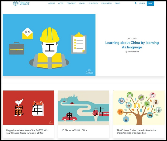 Chineasy Blog
